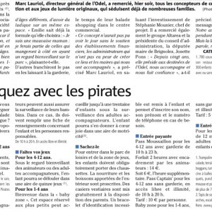 Inauguration Pirates Aventures 2